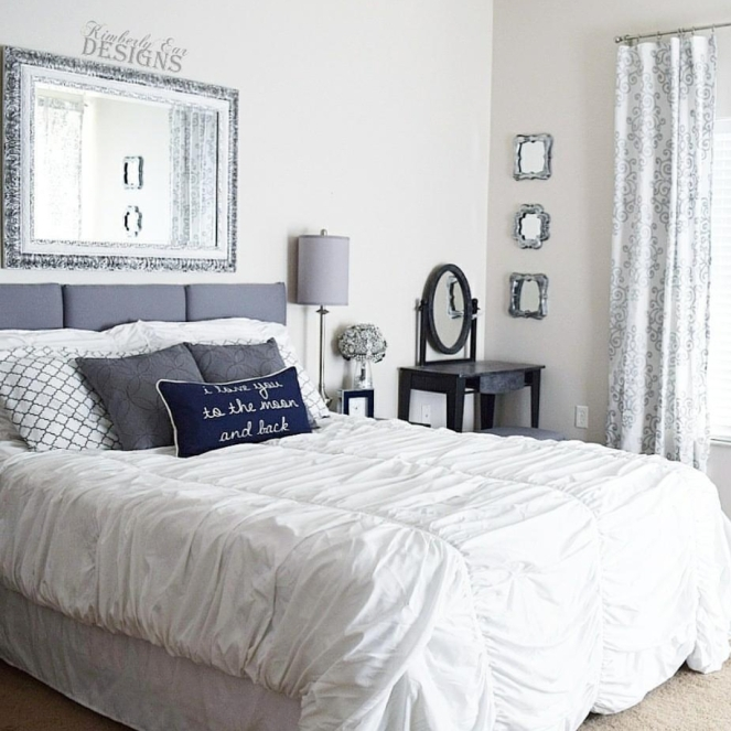 Decorating with Mirrors Master Bedroom